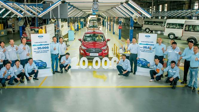 Ford EcoSport là một trong những sản phẩm thành công của Ford tại thị trường Việt Nam,