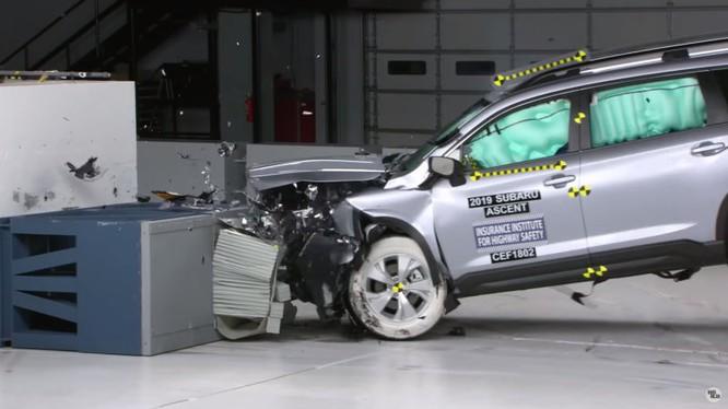 Subaru là thương hiệu xe Nhật Bản có nhiều xe đạt giải thưởng Top Safety Pick+ 2019. (Ảnh: IIHS)