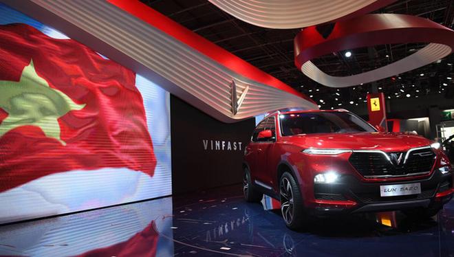 Sự xuất hiện của thương hiệu ô tô Việt - VinFast có thể nói llà điểm nhấn nổi bật nhất của thị trường xe Việt Nam trong năm 2018. (Ảnh minh họa)