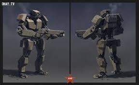 Các robot sẽ thay thế con người trong chiến tranh. Ảnh: Ohay.tv