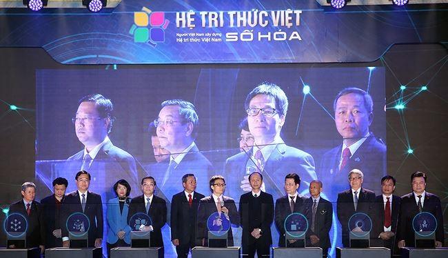 Hệ tri thức Việt số hóa mới được khai trương cần được cập nhật và khai thác hiệu quả. Ảnh: VGP