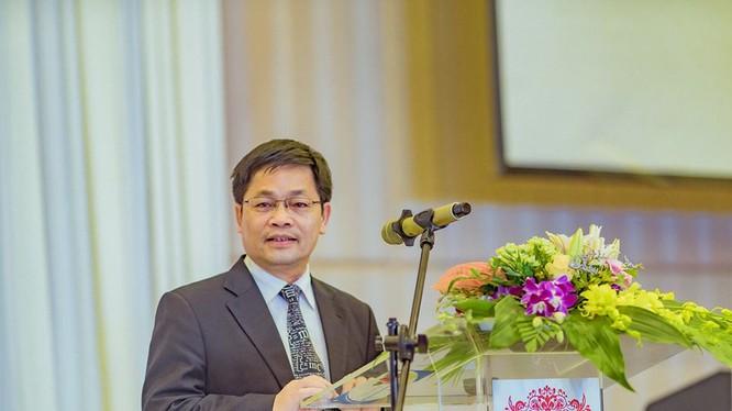GS TS Nguyễn Thanh Thủy - Trưởng ban Vận động thành lập CLB các Khoa, Trường, Viện CNTT-TT Việt Nam (FISU) (ảnh: Hội Tin học Việt Nam)