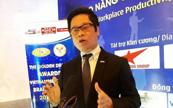 TS Vũ Tiến Lộc - Chủ tịch Phòng Thương mại & Công nghiệp Việt Nam, người đang muốn rút ngắn chương trình đại học xuống còn 2 năm. Ảnh: Diễn đàn Doanh nghiệp.