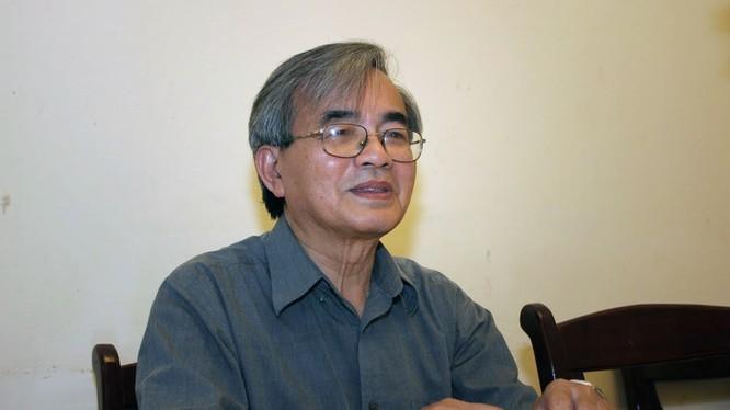 GS TS Phan Đình Diệu. (Ảnh: Lê Anh Dũng)
