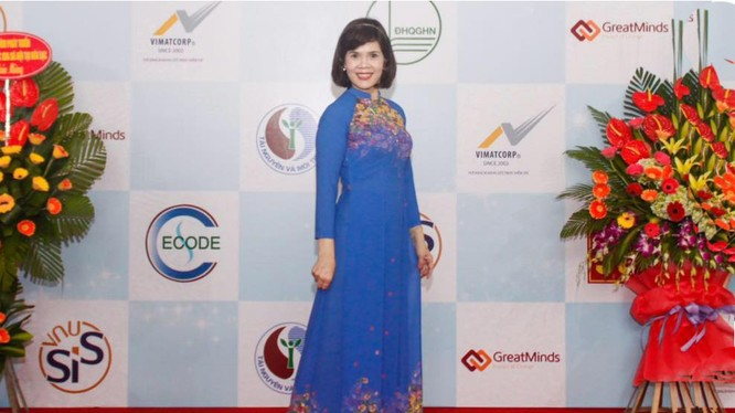 PGS TS Nguyễn Thị Hồng Minh - Chủ nhiệm Khoa các Khoa học Liên ngành, ĐHQG Hà Nội