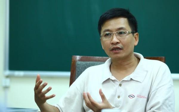 GS TS Phùng Hồ Hải - Phó Chủ tịch kiêm Tổng thư ký Hội Toán học Việt Nam (ảnh: Tuổi trẻ)