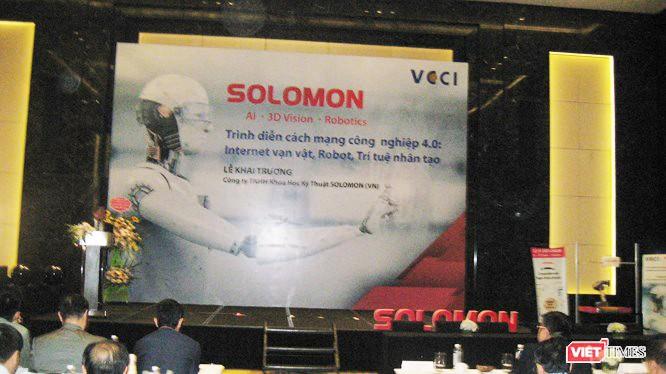 Hội thảo trình diễn CMCN 4.0 của SOLOMON