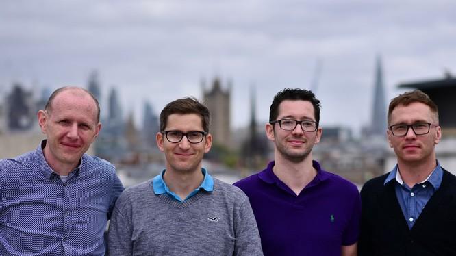Đội ngũ sáng lập công ty SLAMcore. Ảnh: The Telegraph.co.uk.