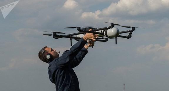 Căn cứ khủng bố sẽ bị lộ diện trên các bức ảnh do UAV chụp nhờ công nghệ của Nga. Nguồn: Sputnik.