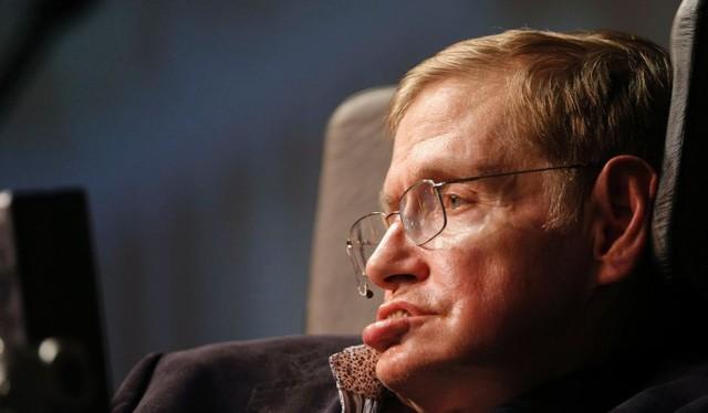 Cố giáo sư vật lý học người Anh Stephen Hawking - Ảnh: REUTERS