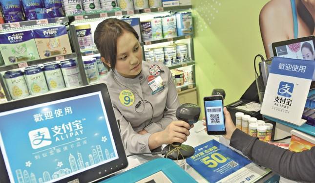 Nhu cầu thanh toán kỹ thuật số của người tiêu dùng Trung Quốc rất lớn.