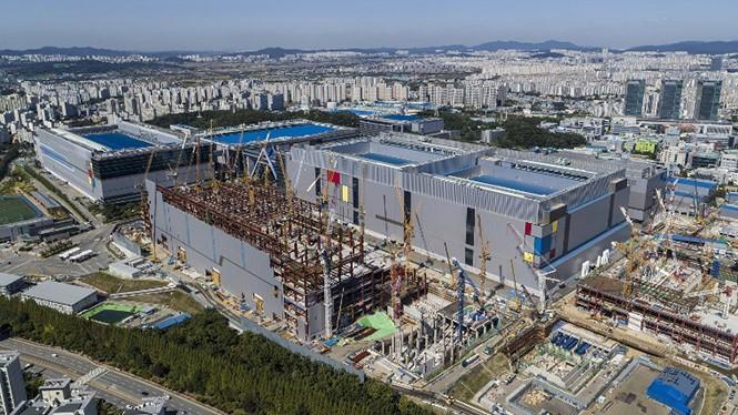 Nhà máy sản xuất chip 7nm LPP của Samsung đã bắt đầu đi vào hoạt động. ẢNH: SAMSUNG