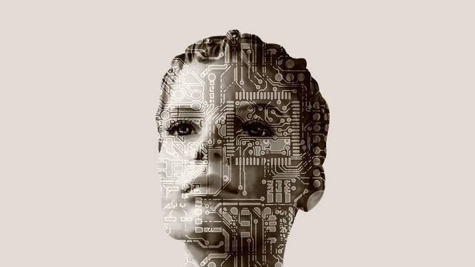 Ảnh: Trí tuệ nhân tạo mang cả đặc điểm của con người và máy móc.