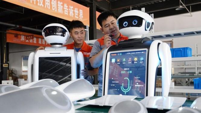 Trung Quốc hiện là một cường quốc về sản xuất robot
