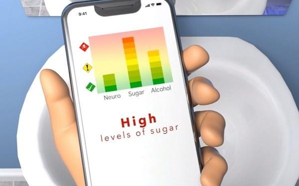Bồn cầu thông minh cho phép người sử dụng biết về trạng thái sức khỏe qua kết nối smartphone