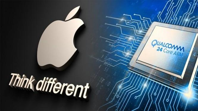 Apple đang nợ tiền bản quyền chip iPhone của Qualcomm