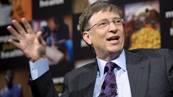 Nhà sáng lập Microsoft Bill Gates cho biết Mỹ cần tiếp tục đóng vai trò như một nhà tài trợ vì sự ổn định ở các nước nghèo hơn có lợi cho toàn thế giới, bao gồm cả Hoa Kỳ © Quỹ Bill & Melinda Gates