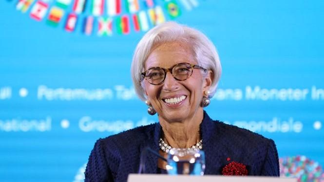 Bà Christine Lagarde. ẢNH: BLOOMBERG