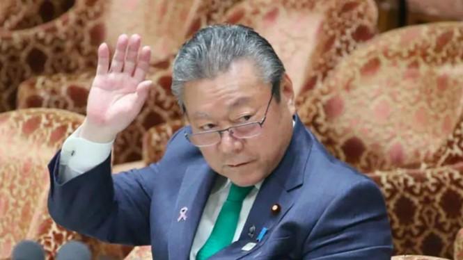 Bộ trưởng An ninh mạng Nhật Bản Yoshitaka Sakurada. ẢNH: AFP