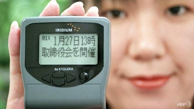 """Máy nhắn tin từng """"hot"""" ở Nhật Bản vào thập niên 1990. ẢNH: AFP"""
