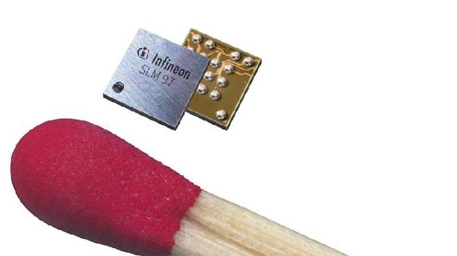 eSIM siêu nhỏ của Infineon bé hơn đầu que diêm