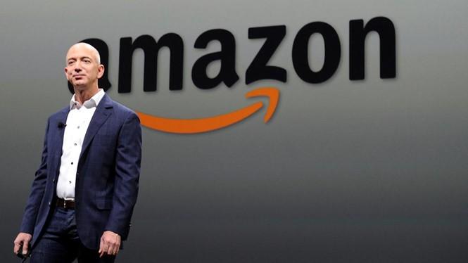 Ông Jeff Bezos. ẢNH: AFP