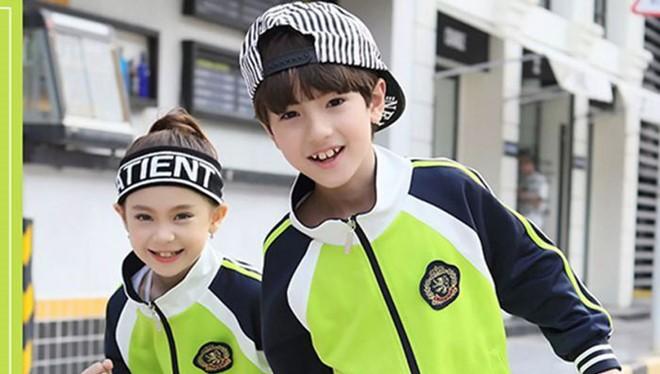 Trung Quốc dùng đồng phục thông minh để quản lý trẻ nhỏ. Ảnh: Guanyu Technology.