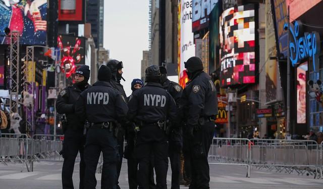 Cảnh sát New York - Ảnh: AFP