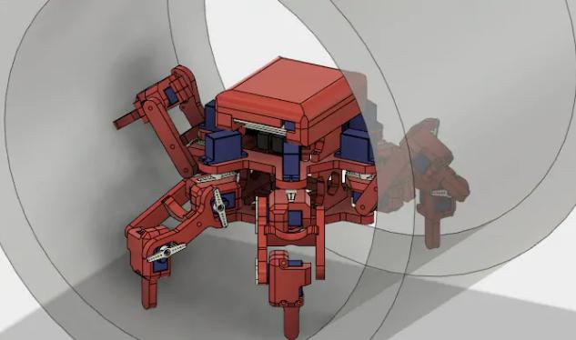 Robot sửa chữa đường ống. Ảnh: Đại học Sheffield.