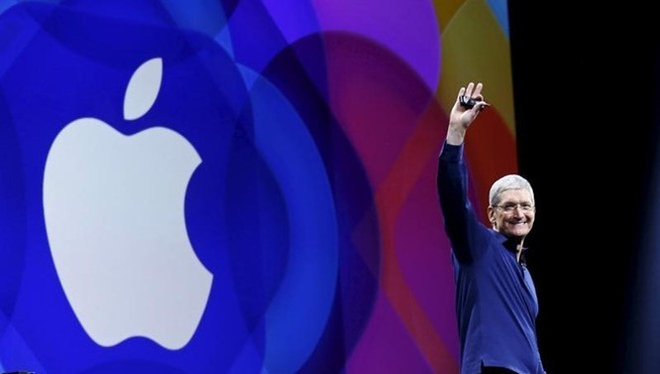 CEO Apple Tim Cook. Ảnh: Reuters.