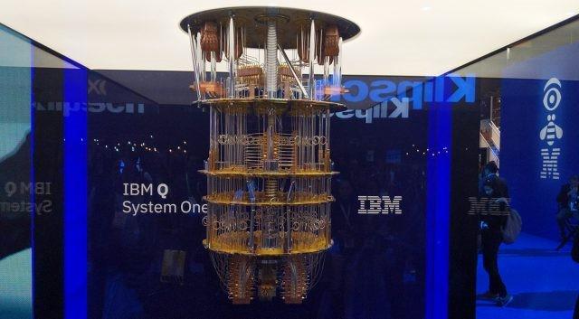 Máy tính lượng tử Q System One của IBM. Ảnh: Extreme Tech.