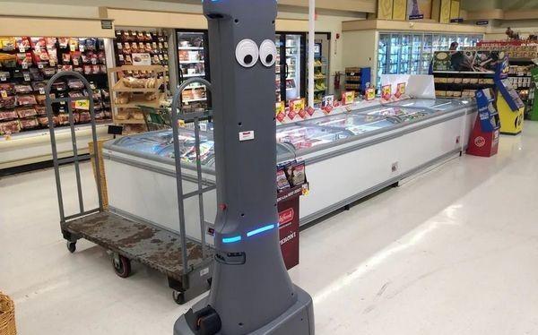 """Robot Marty sẽ được """"tuyển dụng"""" vào các siêu thị Giant Food Stores"""