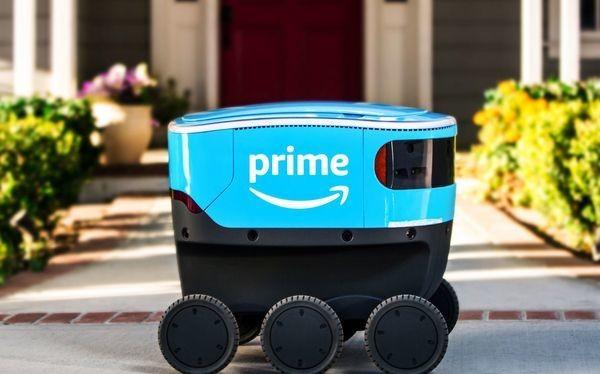 Amazon thử nghiệm robot giao hàng tự trị