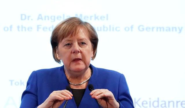 Thủ tướng Đức Angela Merkel - Ảnh: REUTERS