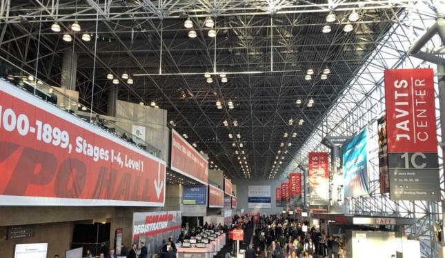 """""""Retail's Big Show"""" do Liên đoàn bán lẻ quốc gia Hoa Kỳ tổ chức năm 2019. Ảnh: Andria Cheng."""