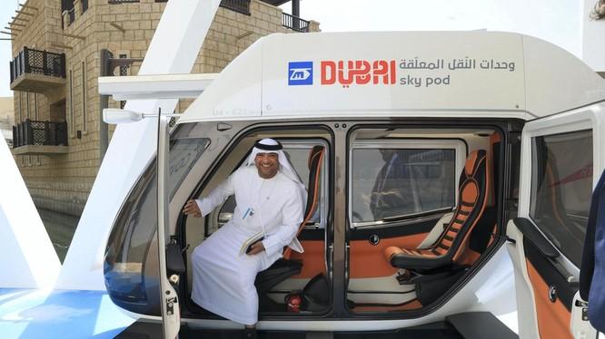 Dubai Skypot kết nối các tòa nhà chọc trời ở UAE
