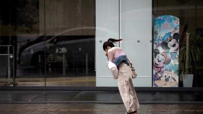 Nhật Bản dễ bị mưa lớn vào mùa hè. Ảnh minh họa: AFP