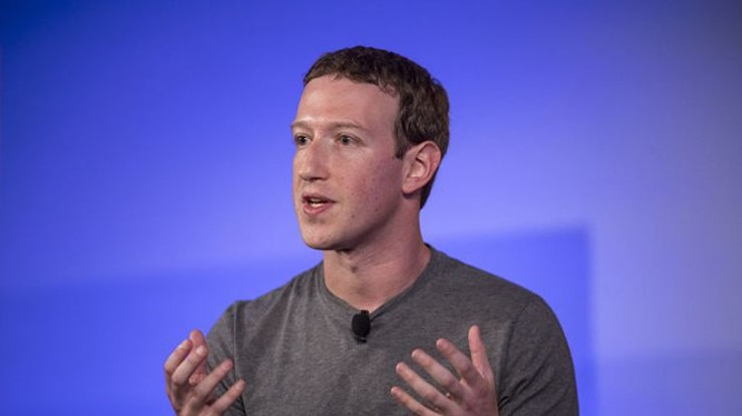 CEO Facebook Mark Zuckerberg. ẢNH: BLOOMBERG