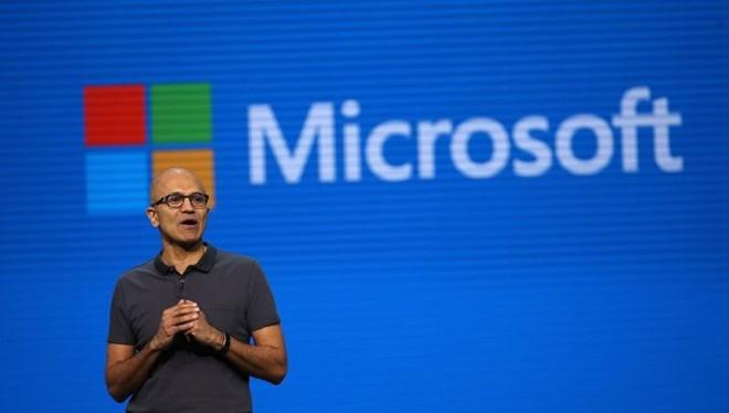 CEO Microsoft Satya Nadella. ẢNH: AFP/GETTY IMAGES