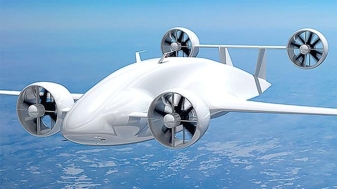 Mẫu concept drone chở hàng củaSabrewing. Ảnh:Sabrewing.