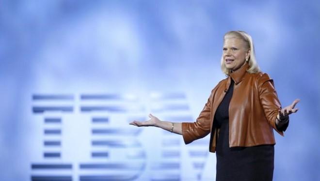 CEO IBM Ginni Rometty. ẢNH: REUTERS