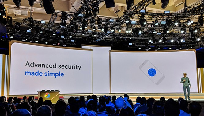 Điện thoại Android sẽ sớm trở thành chìa khóa cấp phép đăng nhập tài khoản người dùng. ẢNH: TECHCRUNCH