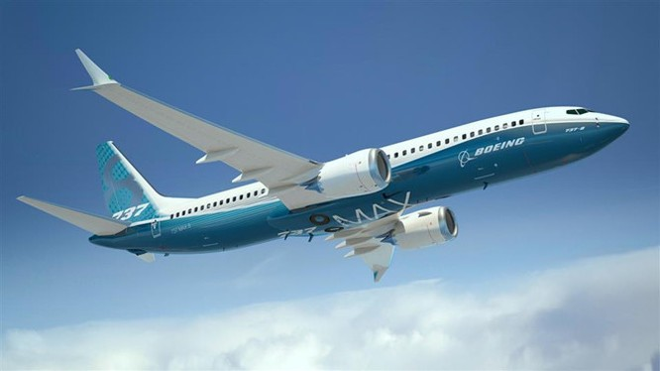 Những mẫu Boeing 737 Max 8 hứa hẹn sẽ sớm được trở lại đường băng. ẢNH CHỤP MÀN HÌNH WSJ