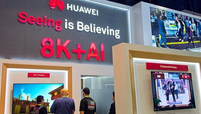 Huawei liệu có thành công với chiến lược sản xuất TV 8K 5G đầu tiên thế giới? ẢNH: TECHSPOT