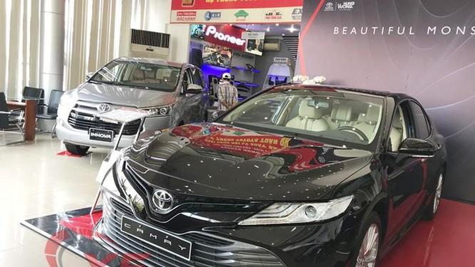 Toyota Camry 2019 ra mắt cuối tháng 4 vừa qua nên chưa đóng góp được nhiều doanh số cho Toyota