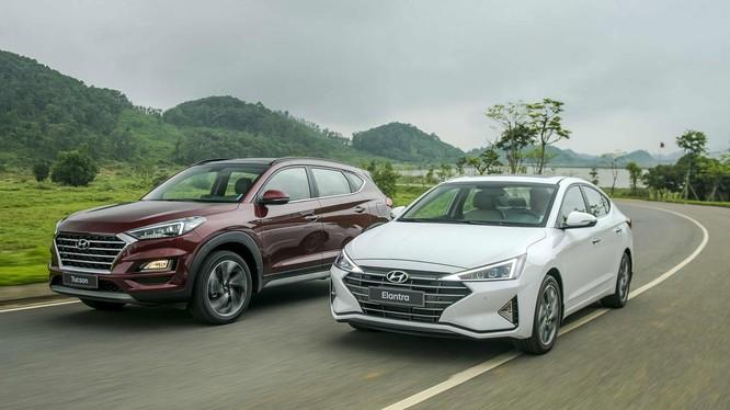 Bộ đôi Elantra 2019 và Tucson 2019 của Hyundai