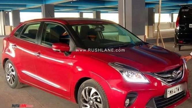 Mẫu xe Toyota Glanza giá rẻ tại thị trường Ấn Độ