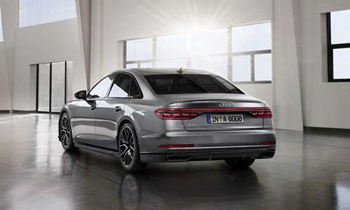 A8 là sedan đầu bảng của Audi hiện tại. Ảnh: Carscoops