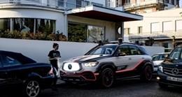 Xe hơi của Mercedes sẽ có robot bảo vệ