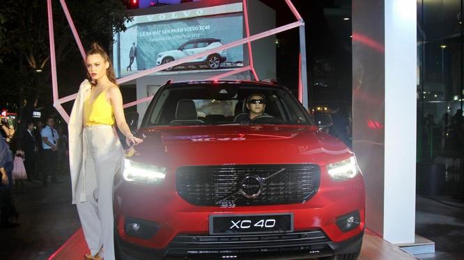 Volvo XC40 có thiết kế khá tương đồng với XC90 và XC60